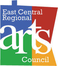 East Central Regional Arts Council Logo