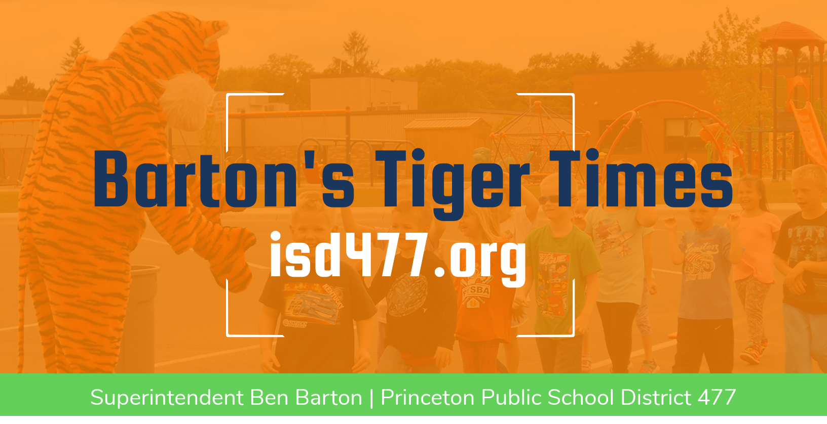 Header for Barton's Tiger Times