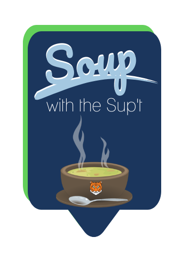 "image reading ""soup with the sup't"""