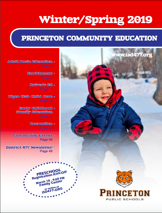 Winter/Spring Community Education Catalog Coming Soon!