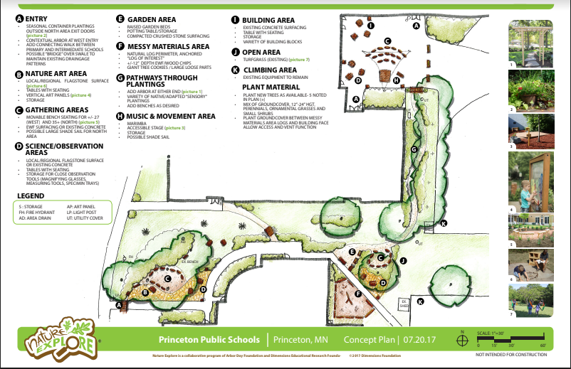 Concept Drawing of Outdoor Classroom
